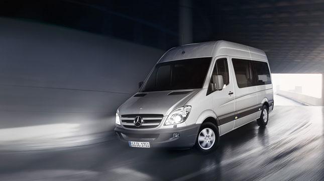 Mercedes Sprenter & VolksWagen Grafter Minibüs Kiralama