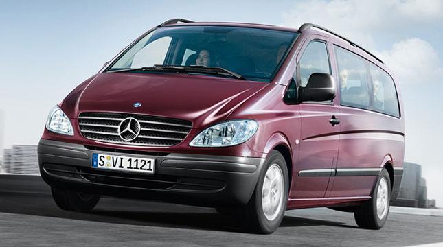 Mercedes Vito Minibus Kiralama
